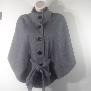 F21 belted short cape S